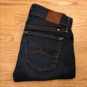Lucky Brand Cate Stacked Skinny Jeans 00/24
